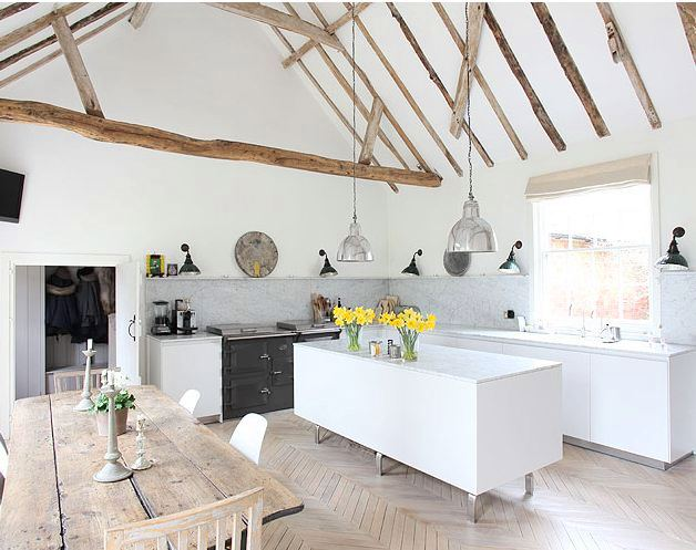 We Predict The Kitchen Hearth Trend Feather and Nest Style