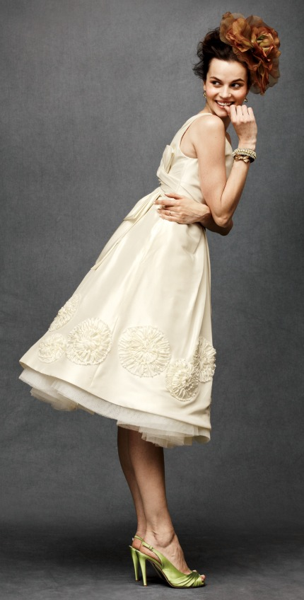 Anthropologie wedding dresses via-Gamour.com