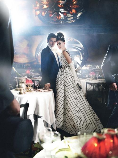 Anne Hathaway, Vogue via- Simply Smitten by Kristin Kerr