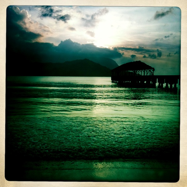 Hanalei Bay photographed by Jamie Parker, F&N