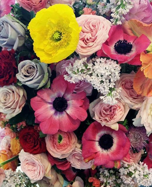 Jil Sander show florist Mark Colle, as chosen by Daisy Woodward Courtesy of Mark Colle via-AnOther