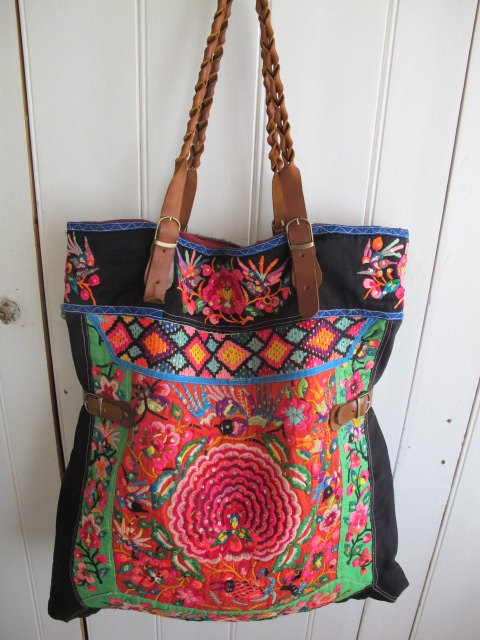 vintage embroidered bag-Etsy, Shop Gypsy River