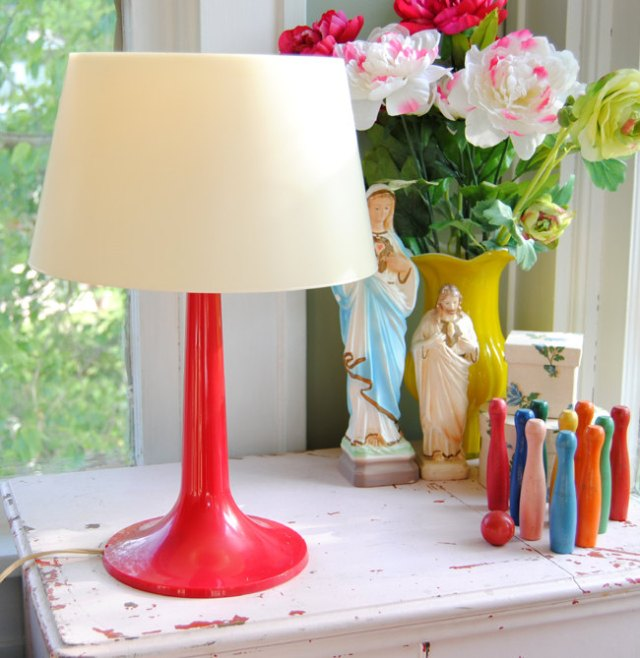 Mid Century Modern Lamp, Nicole and Jesse of Confetti Garden, shop Etsy