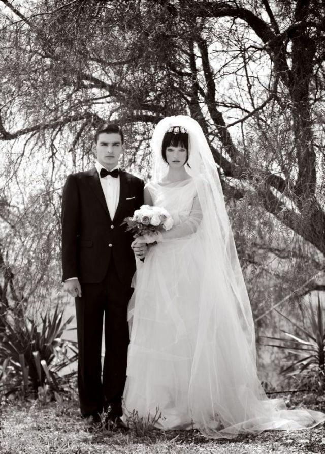 wedding shoot by Signe Vilstrup for Vanity Fair via-Onewed