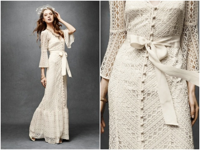 Greenbow Lace Gown via-Bridal Musings