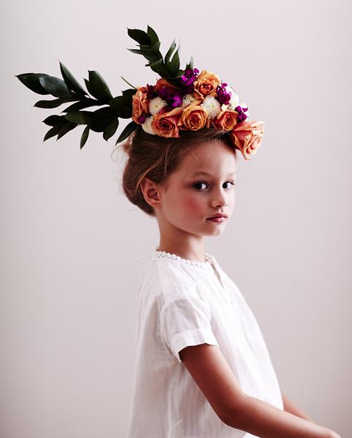 Chaunté Vaughn, photographer and stylist, model-Kayla via-The House That Lars Built