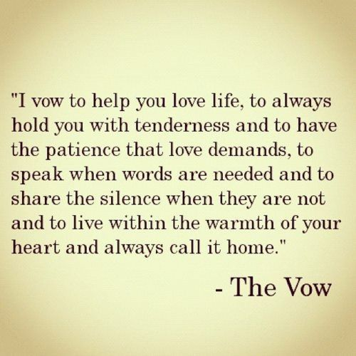 The Vow via-Welcome to Wonderland
