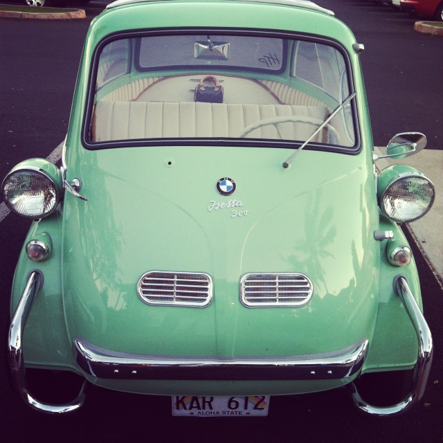 BMW Isetta, photograph by Jamie of Feather & Nest