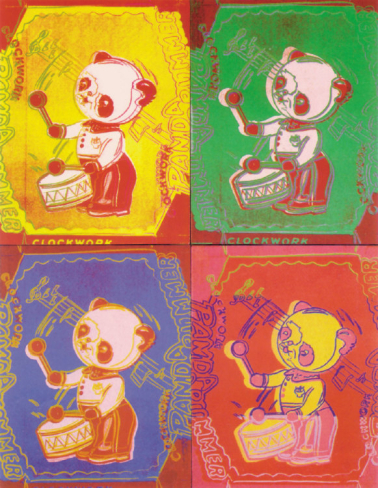 Andy Warhol-Four Pandas, shop Art.com