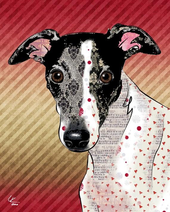 16x20 Custom Pop Art Portrait of Your Pet, Pop Dog Designs, Etsy