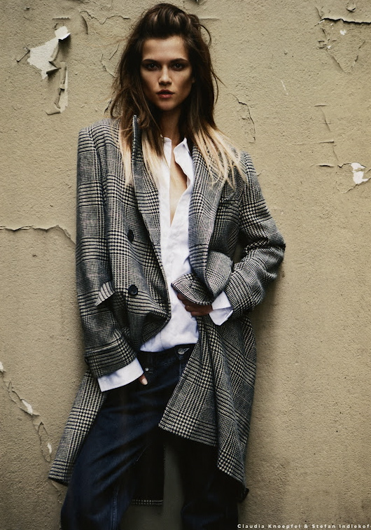 Fall 2012 is showing a trend for bulkier, oversized clothing....still looks sexy and fresh<3- via Ladybirds Nest