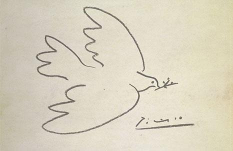 Pablo Picasso 'Dove' 1949 BBC Modern Masters