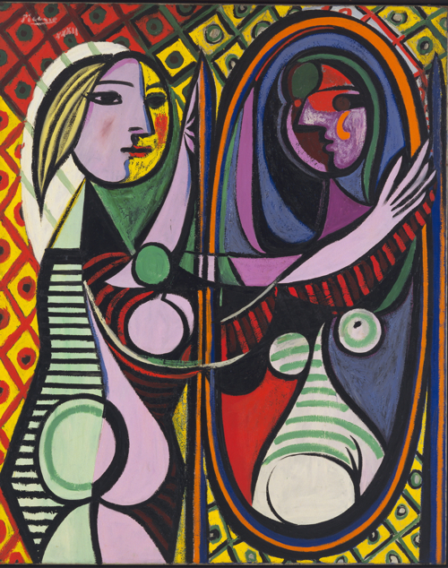 Picasso's 'Girl Before Mirror'