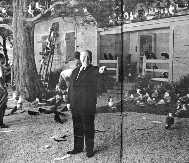 Alfred Hitchcock's making of The Birds