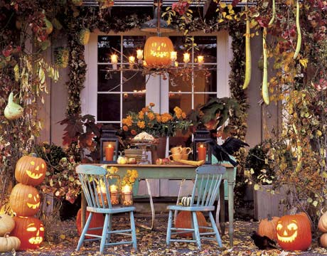 Halloween Party Decorating Ideas-via Country Living